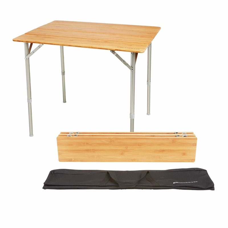 Beckworth & Co. SmartFlip Outdoor Picnic Folding Table