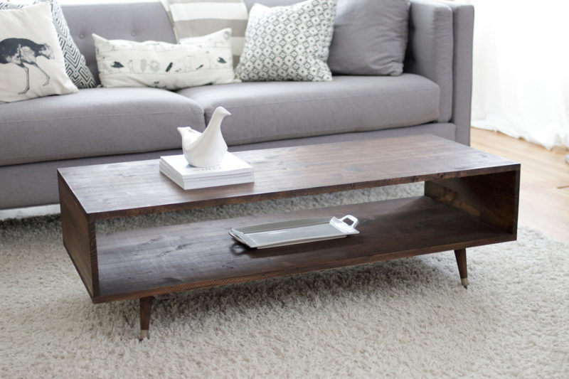 60 Diy Coffee Table Plans And Ideas With Form Function