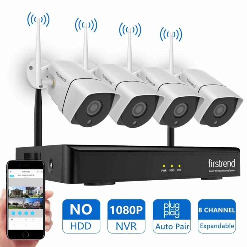 Firstrend Wireless Home Security Camera System