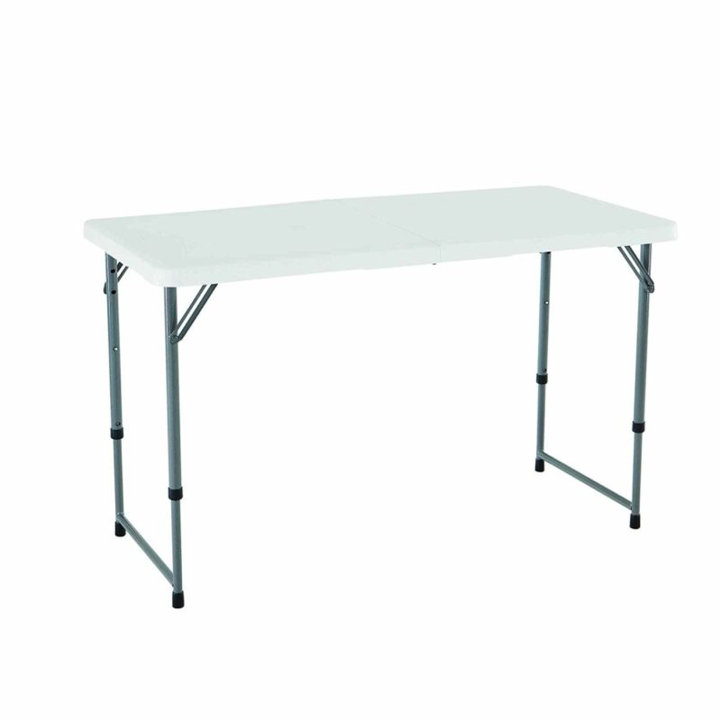 Lifetime 4428 Height Adjustable Folding Utility Table