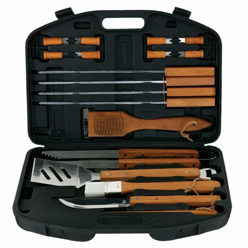 Mr. Bar-B-Q 94001X 18-Piece Grill Tool Set