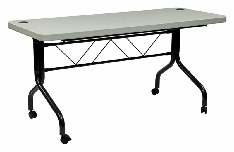 Office Star Resin Utility Folding Table