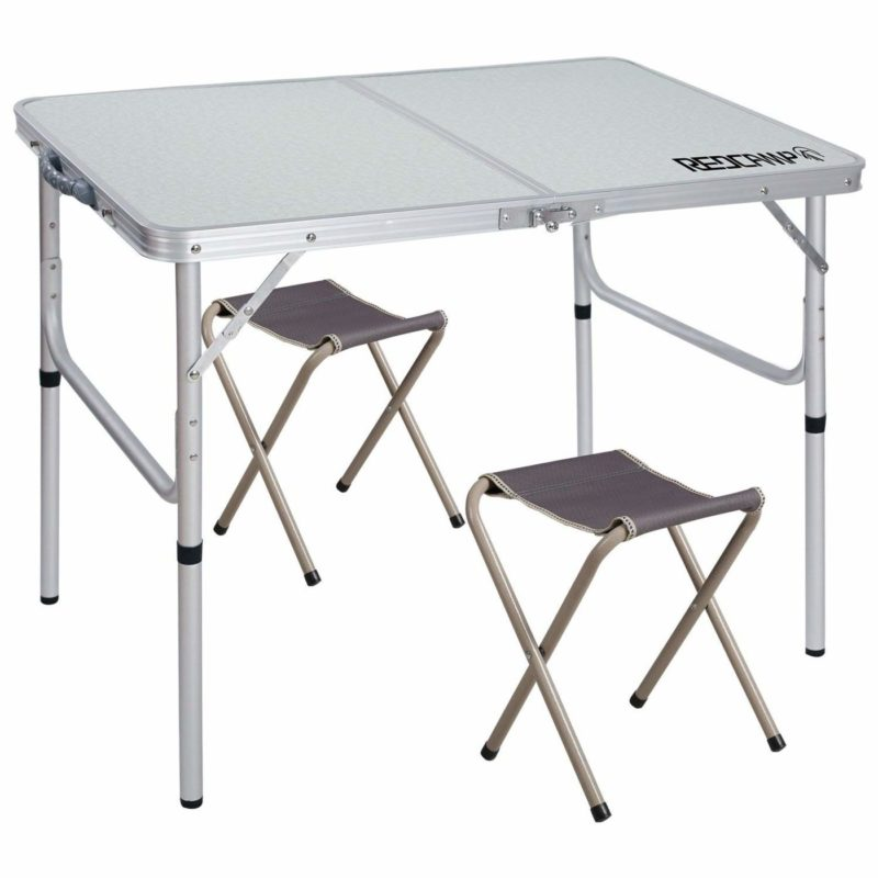 REDCAMP Outdoor Folding Camping Table