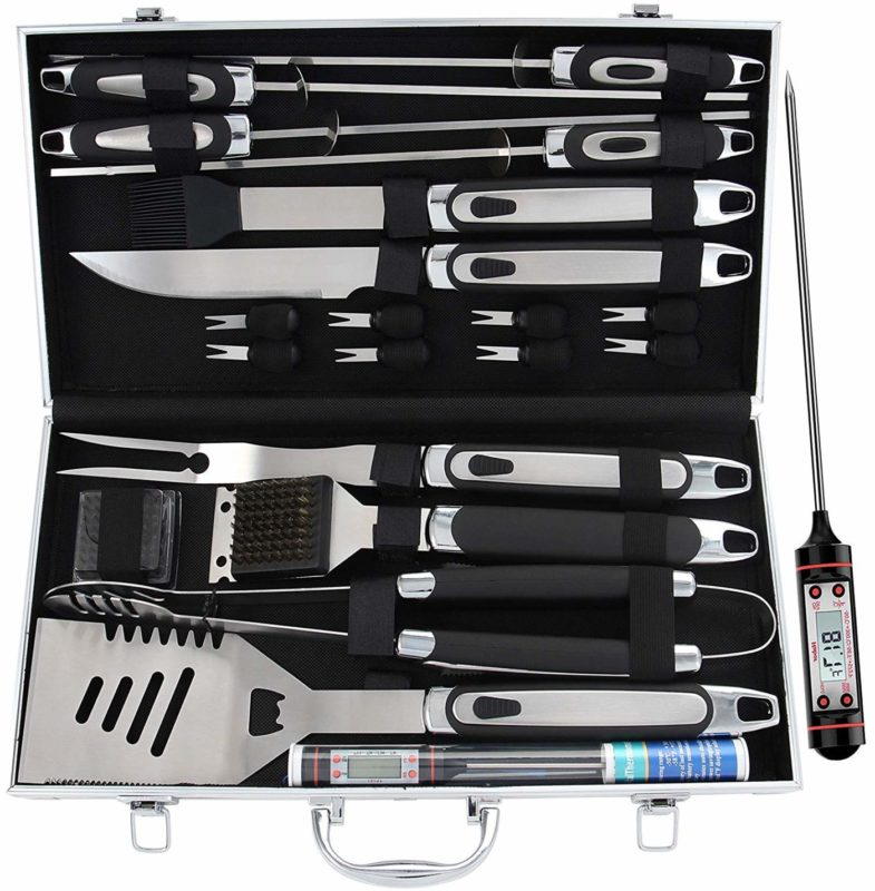 ROMANTICIST 21-Piece Grill Tool Set