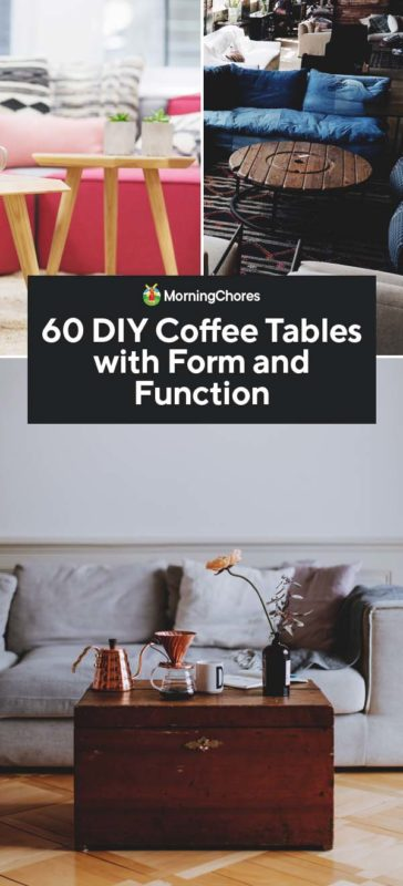 Astounding 60 Diy Coffee Table Plans And Ideas With Form And Function Gmtry Best Dining Table And Chair Ideas Images Gmtryco