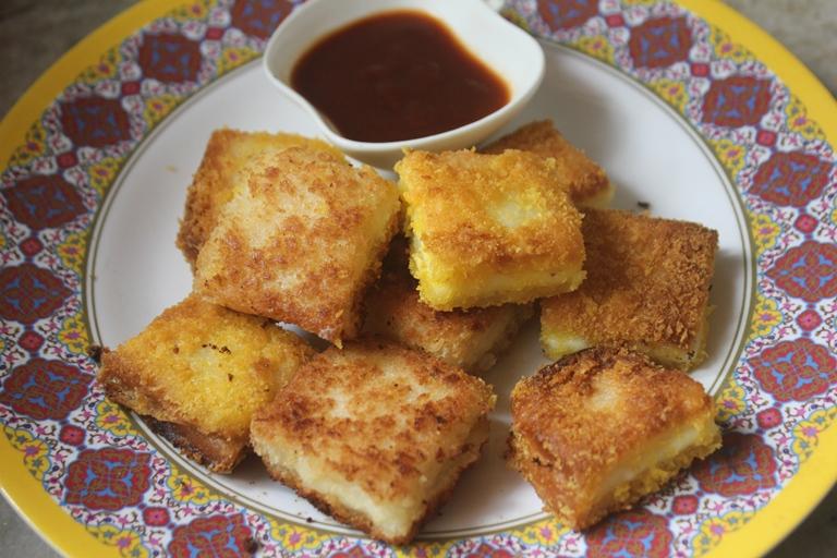 Bread Cheese Bites