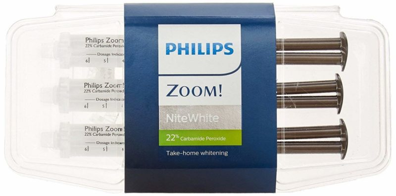 Phillips Zoom Nite White Teeth Whitening Gel