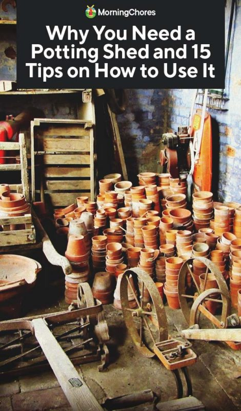 Potting Shed Why You Need It And 15 Tips On How To Use It