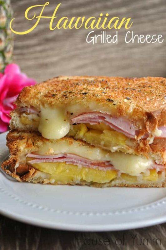 hawaiian-grilled-cheese