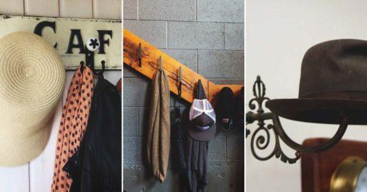 27 Simple Tutorials to Build a DIY Hat Rack