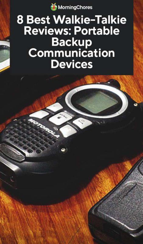 8 Best Walkie-Talkie Reviews: Portable Backup Communication