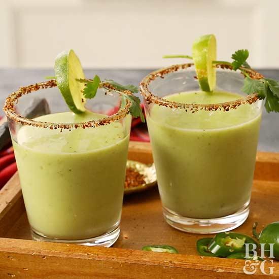 avocado margarita green drinks