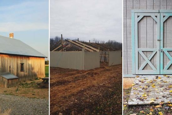 How to Build a Barn by Yourself for Under $3,000