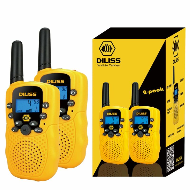 DilissToys Walkie-Talkies for Kids 2-pack