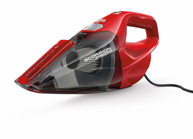 Dirt Devil Scorpion SD20005RED RED Corded Hand Vacuum