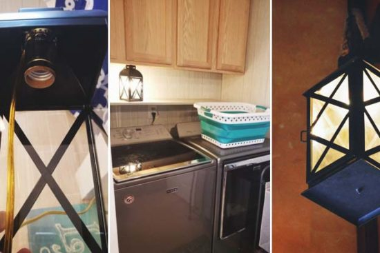 How to Make a DIY Lamp in 10 Minutes For Less than $20