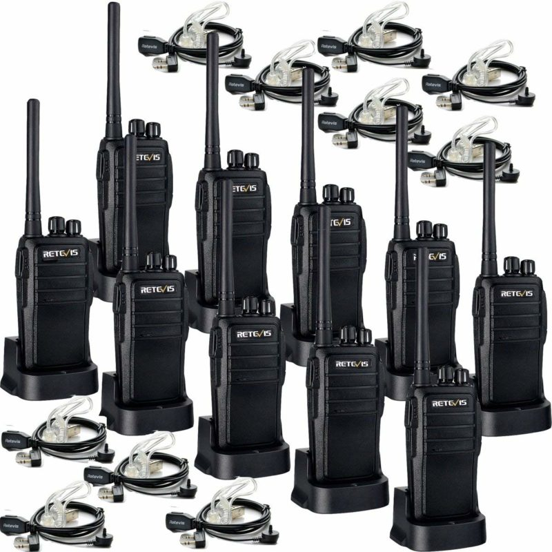 Retevis RT21 Walkie-Talkie 10 Pack