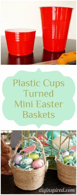 affordable diy easter baskets