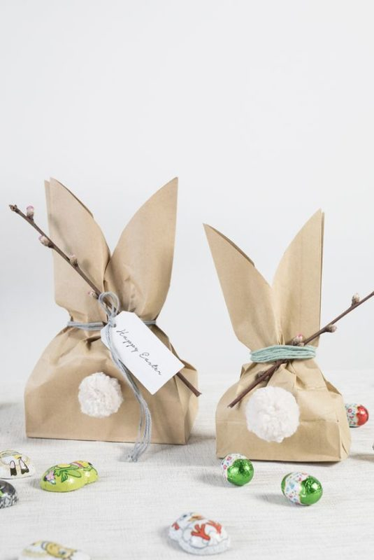 recyclable diy easter baskets