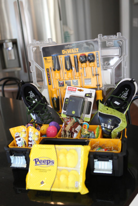 toolbox easter basket