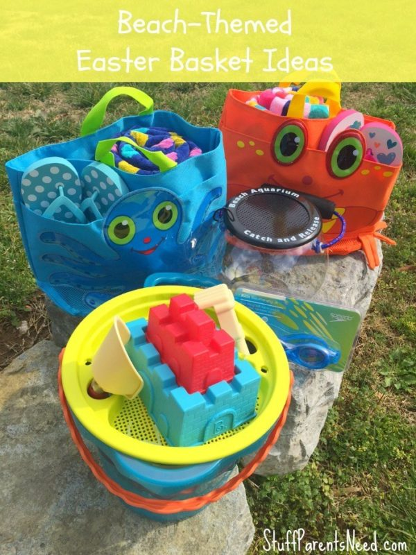 sea-themed easter basket ideas
