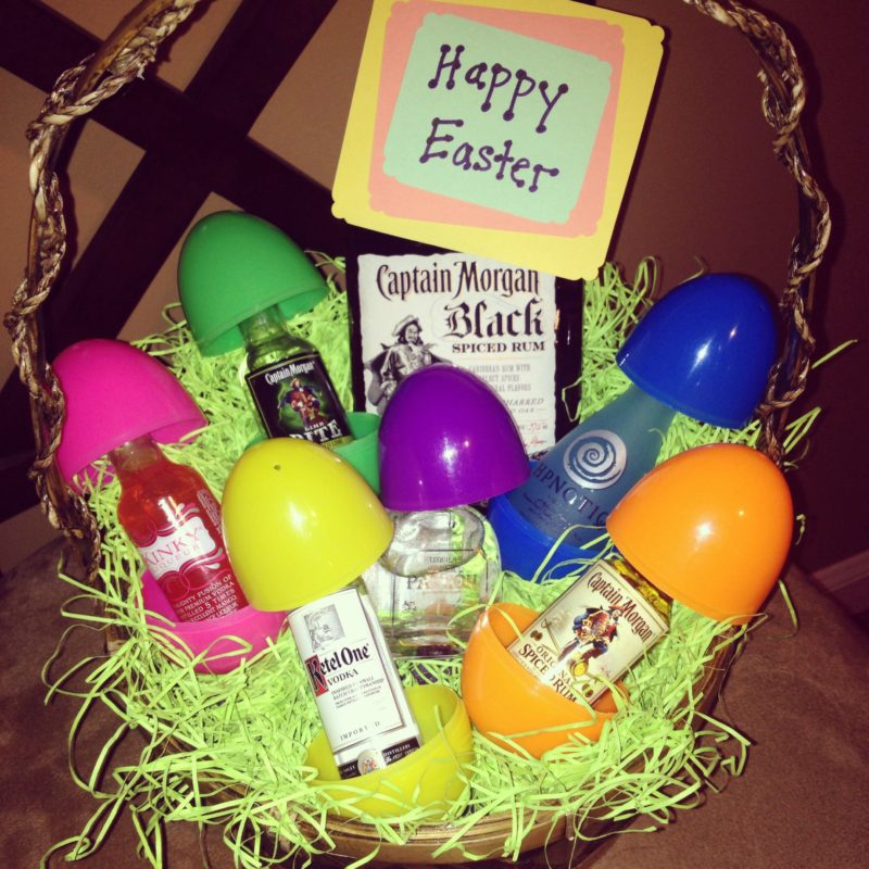 adult liquor basket