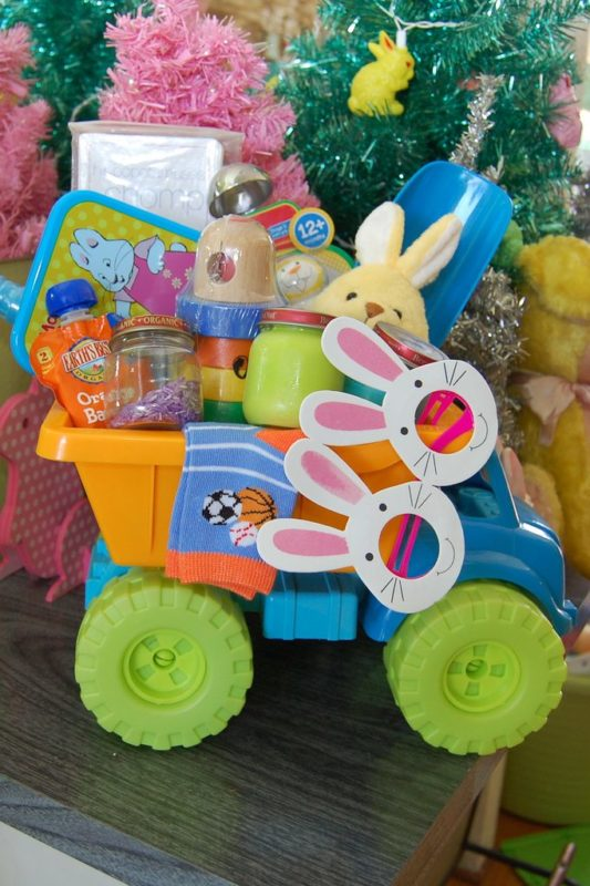 play truck easter basket