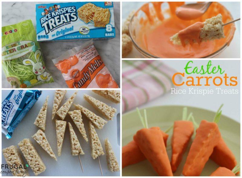 easter snacks krispy treat