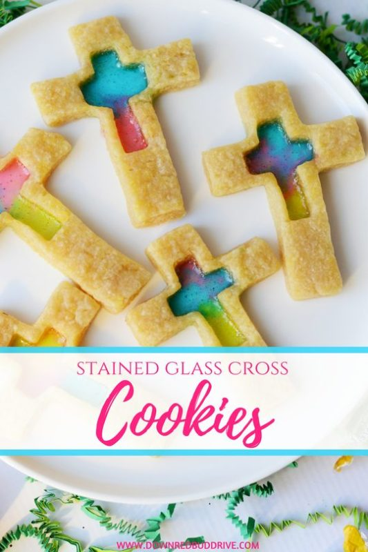 Cross shaped Easter snacks