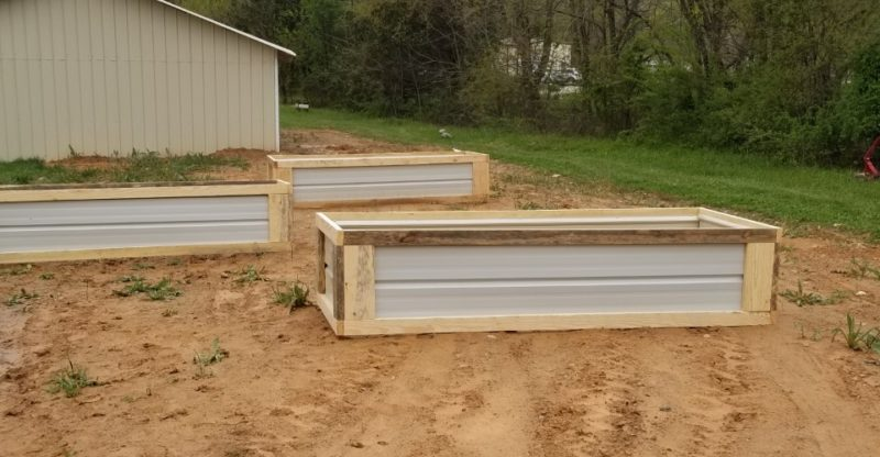 DIY Raised beds completed