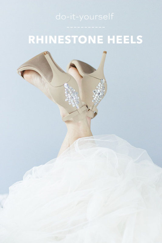 diy wedding dress hacks for shoes