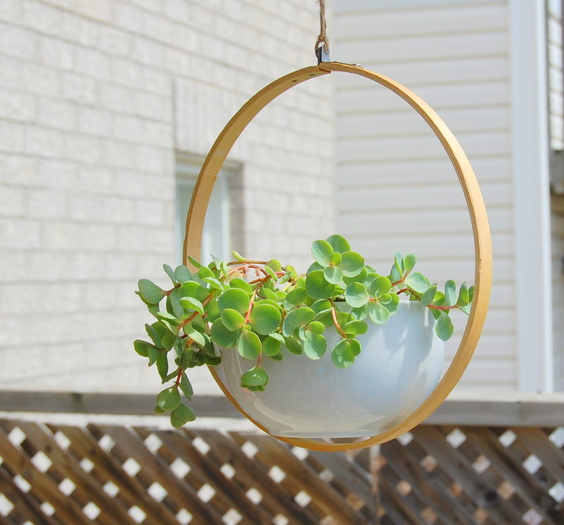 diy hanging basket