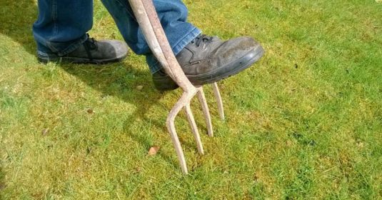 How to Use a Broadfork to Promote Good Drainage in Your Garden