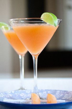 cantaloupe recipes as a cantaloupe martini