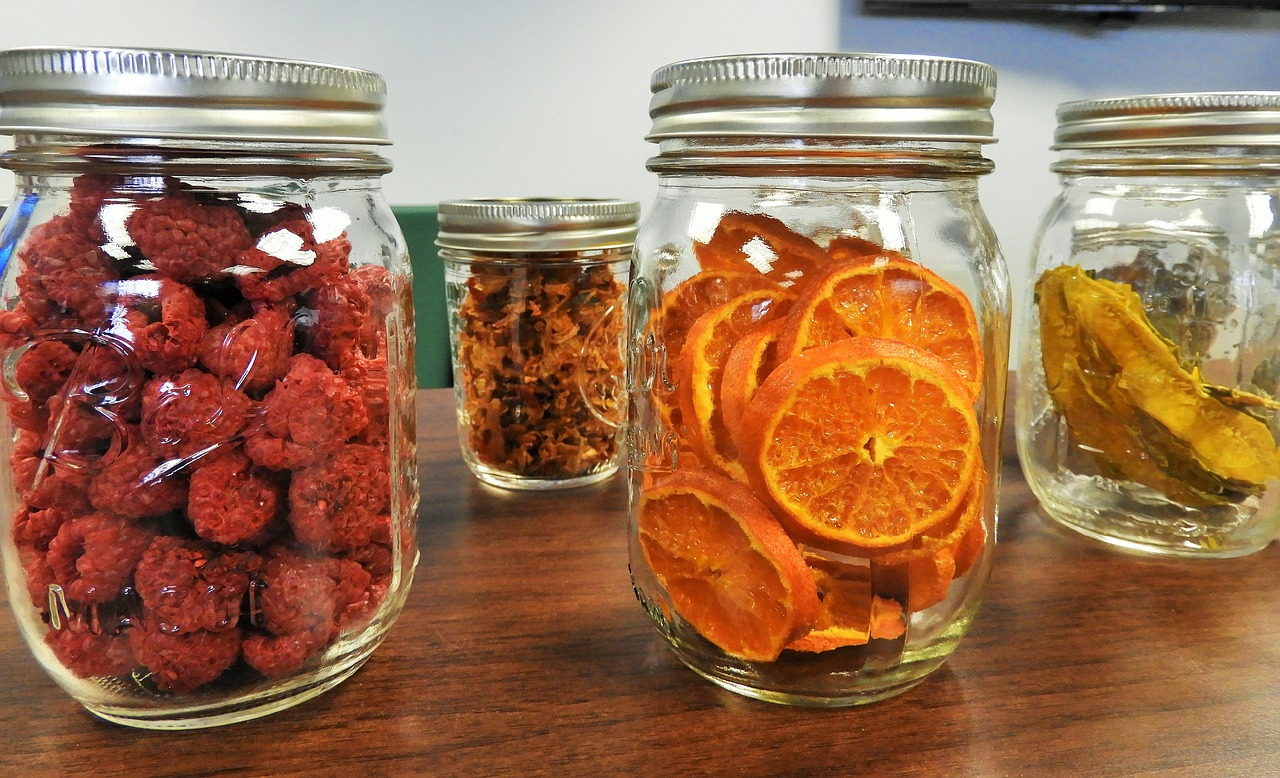 freeze drying as a way to preserve food