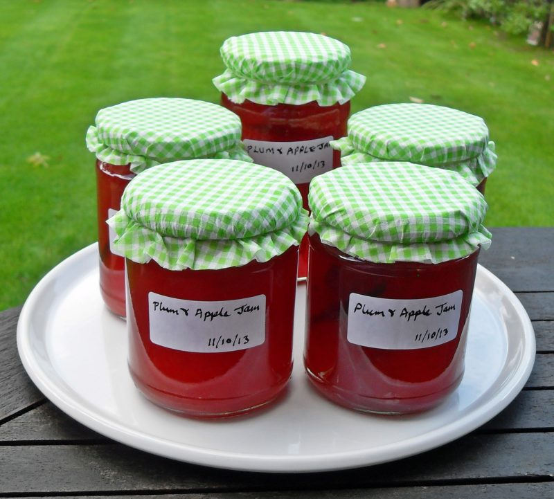 plum and apple jam as part of plum recipes