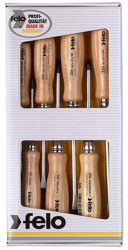 Felo 18108 7-piece Screwdriver Set