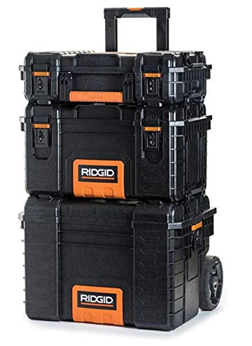 RIDGID Storage Cart and Organizer Tool Box