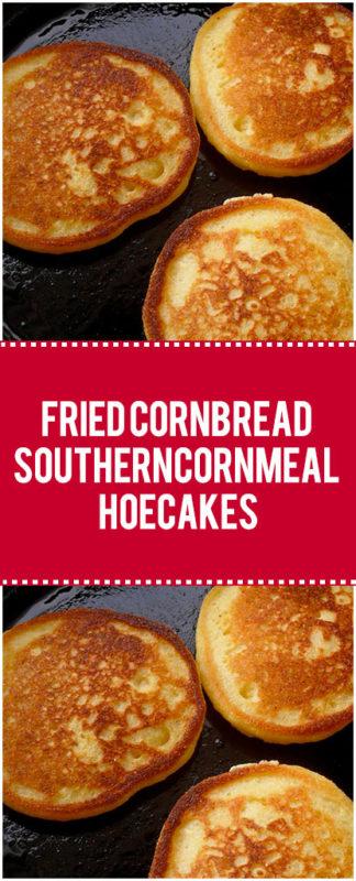 bacon grease fried cornbread