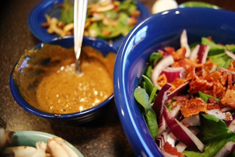 bacon grease salad dressing
