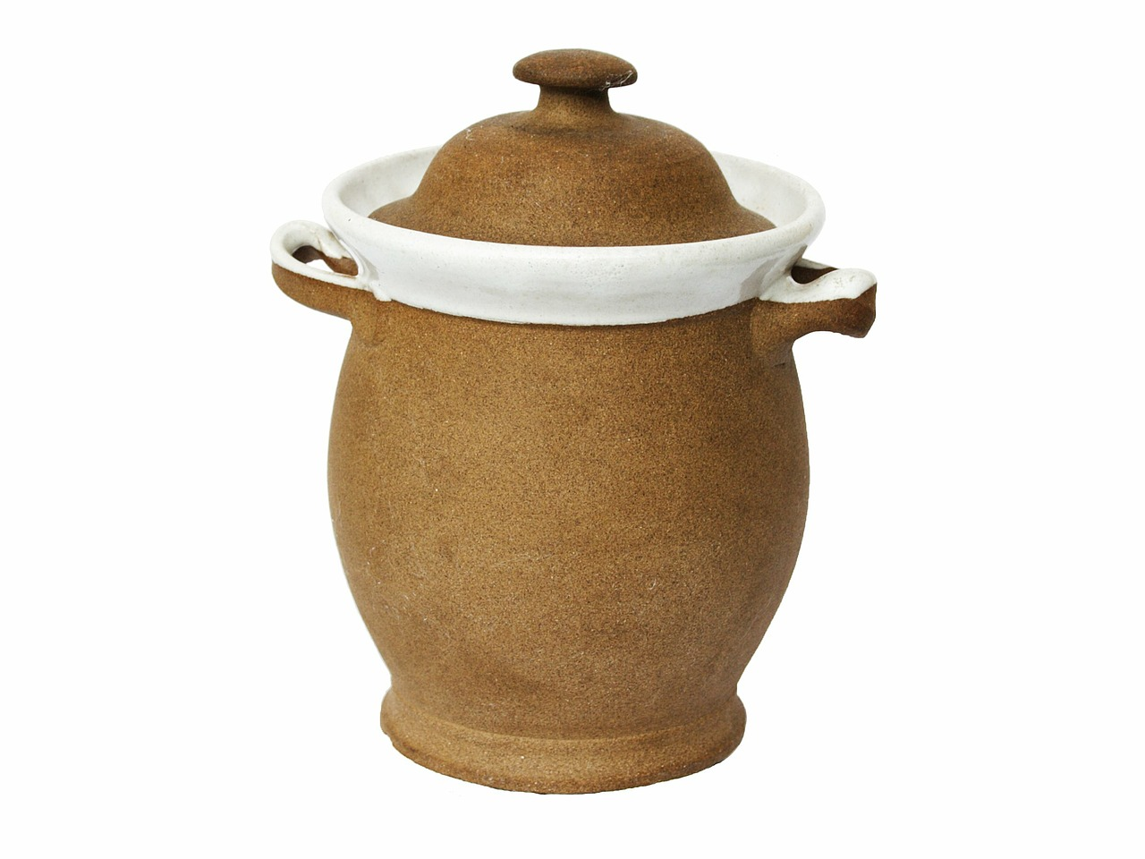 a pot for potting meat