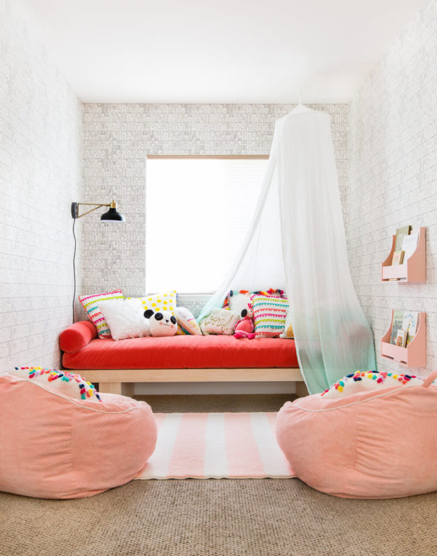 Playroom DIY daybed