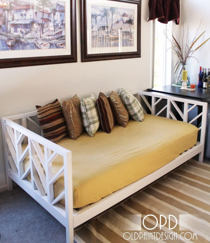 The Stacey Design DIY daybed
