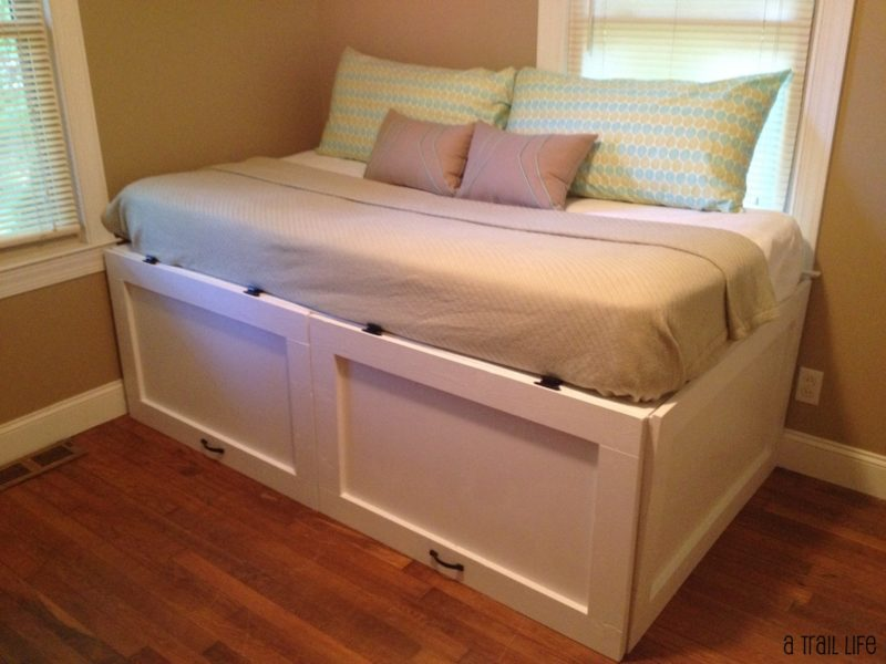 Storage DIY daybed