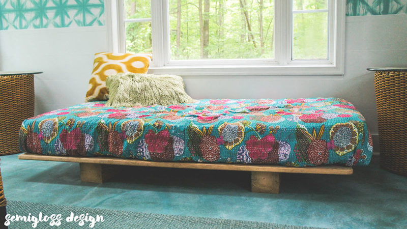 Easiest DIY daybed ever