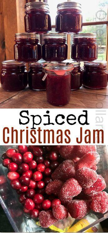 Spiced Christmas Jam Recipes