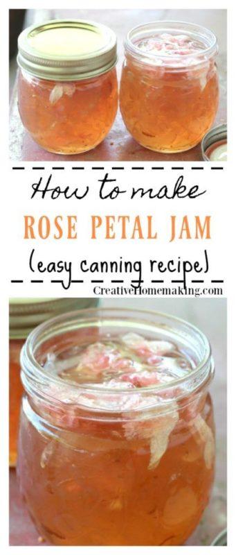 rose petal jam recipes