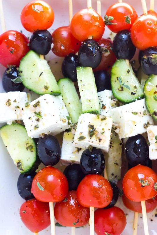 salad on a skewer! what's next for crazy picnic food ideas
