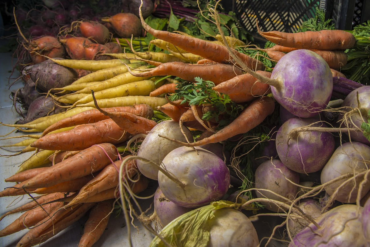 root crops can be used for burial food preservation