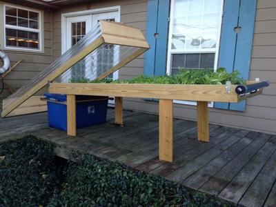 grow hydroponic table